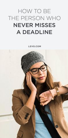 Here are ways to remedy that whole 'late' problem. @levoleague www.levo.com