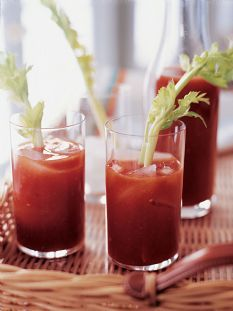 Barefoot Contessa - Recipes - Spicy Bloody Marys.  I love a really spicy ice cold Bloody Mary almost as much as I love Martinis!!!