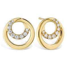 Shop diamond earrings at Hearts On Fire. Whether you are seeking gold earrings, platinum, studs, or hoops, our diamond earring collection is sure to dazzle. Mens Gold Jewelry, Black Hills Gold Jewelry, Clean Gold Jewelry, Vintage Jewelry, Unique Jewelry, Skull Jewelry, Copper Jewelry, Pearl Jewelry, Jewelry Gifts