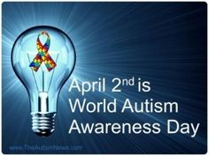 And April is Autism Awareness Month, unless you have an Autistic child, then EVERY day is about Autism Awareness :-)