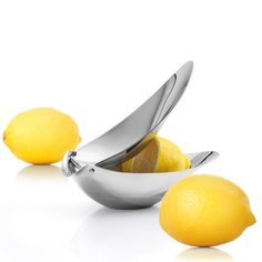 Zitronenpresse Edelstahl poliert CALLISTA
