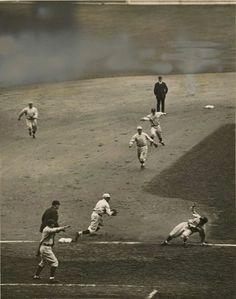 rundown / Joe Sewell 1920 World Series