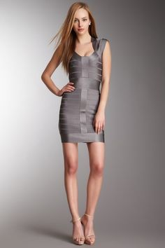 French Connection T-Ribbon Knit Cap Sleeve Dress by Graduation Dresses on @HauteLook