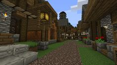 minecraft medieval village layout town screenshots quaint houses added layouts building buildings mine