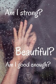 #NEWPOST Am I strong? Am I beautiful? Am I good enough? Have you found yourself asking these questions? We live in a world that tears us down. If we let the world define us, we will always be let down. Instead, we have to be defined by the Cross.