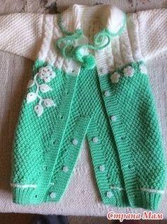 Tie a jumpsuit together - knit online .- Binde einen Overall zusammen – Online stricken … – Tie a jumpsuit together – knit online … – … – Baby clothes - Baby Knitting Patterns, Knitting Designs, Baby Patterns, Crochet Baby Jacket, Crochet Baby Clothes, Crochet Baby Hats, Crochet Cardigan, Crochet For Boys, Knitting For Kids