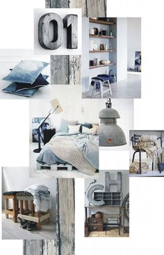 Rustic Decoration examples. See more inspirations at http://www.brabbu.com/en/inspiration-and-ideas/ #MoodBoardIdeas #MoodBoardDesign