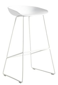 about a stool barhocker h 65 cm kufengestell aus stahl hay chair aac22 roble lacado