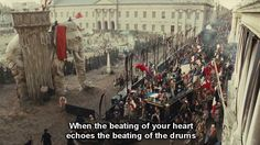 "Every revolution has something prideful and something sad...  ""Les Misérables"", by Tom Hooper (2012)"