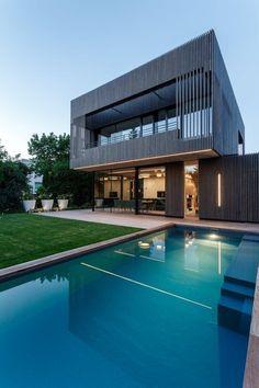 // House D Near Vienna by Caramel Architekten. Photo: Christian Sperr