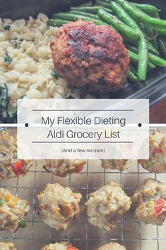 My IIFYM grocery list and meal for plan for shopping at Aldi! Save money and meet your goals by making the switch.