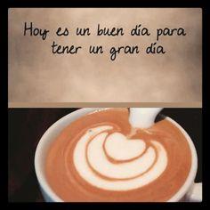 """""""Hoy es un buen día para tener un gran día"""". Haz de éste gran día un maravilloso día con el sabor y aroma del mejor café  Comparte disfruta y deléitate en Aroma Di Caffé. Visítanos en el C.C. Metrocenter pasaje colonial. #AromaDiCaffé #MomentosAroma #SaboresAroma #EspressoAroma #Café #Coffee #CoffeeTime #CoffeeBreak #CoffeeLovers"""