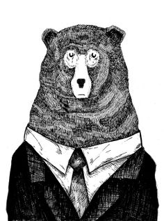 Day 41. Who invited the bear to go into business?