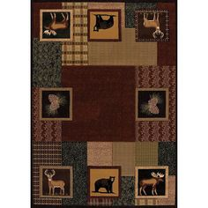 Sale Price : $183.99  Order it Here=> https://diamondhomeusa.com/products/5ft-3in-w-x-7ft-6in-l-geometric-lodge-hunter-hand-carved-brown-cabin-area-rug-deer-bear-moose-cottage-nature-wilderness-forest-woods-modern-casual-native-american-perfect-your-home-decor?utm_campaign=outfy_sm_1510117702_984&utm_medium=socialmedia_post&utm_source=pinterest   5ft 3in W x 7ft 6in L Geometric Lodge Hunter Hand Carved Brown Cabin Area Rug Deer Bear Moose Cottage Nature Wilderness Forest Woods Modern Casual…