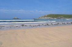 Crantock Beach Cornwall - looks like Byron from Belongil. Gorgeous.