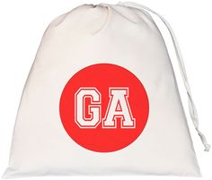 Netball Goal Attack Large Drawstring Bag
