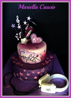 violetta cakes on pinterest - Buscar con Google