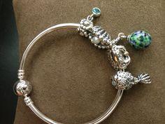 So cute! Summer Pandora beads