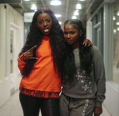 Justine and Brittany