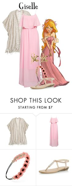 """""""Giselle (Disney's Enchanted) // Sadie Kane"""" by fandom-girls ❤ liked on Polyvore featuring Calypso St. Barth, Rut&Circle, Forever 21, Dorothy Perkins, Brooks Brothers, disney, disneybound, Disneyprincess and allegrabounds"""
