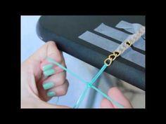 DIY ♡ Plastic Lace & Chain Bracelet Diy Jewellery, Jewelry Crafts, Plastic Lace Crafts, Paracord Knots, Art Camp, Micro Macrame, Lanyards, Diy Accessories, Fun Diy