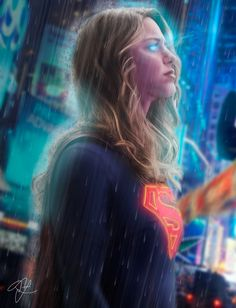 """Supergirl Lives"" A tribute to the fantastic TV show! Supergirl Superman, Supergirl And Flash, Supergirl 2015, Danny Collins, Dc Comics, Kara Danvers Supergirl, Melissa Marie Benoist, Univers Dc, Cw Dc"