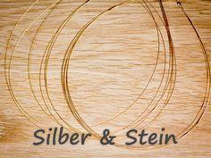 weicher Gold-Reif fünfreihig von Silber & Stein auf DaWanda.com