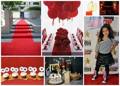 Ideas for how to theme a Hollywood movie party! - Southern Outdoor Cinema expert tip for theming and enhancing an outdoor movie event.