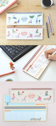 I won't miss any of my weekly plans as I can't stop looking at my Doran Doran Weekly Planner because frankly, it's so cute! This vivid and artistic planner is a delight to have on my desk, and I love jotting my plans on them, it keeps me constantly organized and well planned.