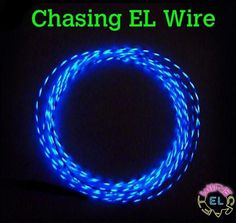 RadioShack Blue EL Wire 3m electroluminescent burningman art car//costum 9.84/'