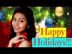 Happy Holidays!!! #HolidayWithBoni ❄ - YouTube