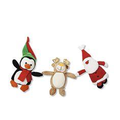 Julebamse 20 kroner. Fås som pingvin, rensdyr eller julemand.  Kr. 20,- #tigerjul