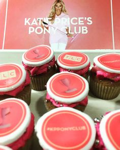 Katie Price show and cakes. #isthisstillathing #2016 #cupcakes #promotion #TLC  #2016 #summer #london
