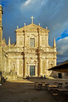 Sveti Ignacije - Church of Saint Ignatius in Dubrovnik, Croatia | heneedsfood.com