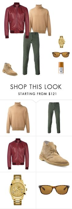 """""""Put Some Color"""" by lgcrespo on Polyvore featuring AMI, Jacob Cohёn, Dolce&Gabbana, Clarks, GUESS, Ray-Ban, Acqua di Parma, men's fashion y menswear"""