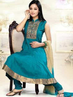 Image from http://www.fashionpinki.com/wp-content/uploads/2015/01/Stylish-Salwar-Kameez-Designs-2015-For-Women-By-Utsav-Fashion-4.jpg. - Google Search