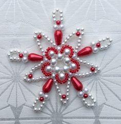 Vánoční hvězda - vločka