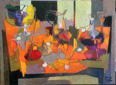 Les-Onions, Painting, Pierre Pivet