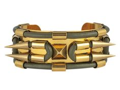 Fallon Cuff Bracelet  --  http://www.marieclaire.com/fashion/trends/plus-size-military-fashion-fallon-cuff