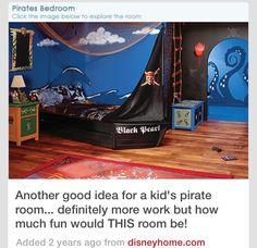 Pirate theme room