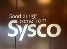 We worked with Sysco to produce and install numerous interior graphics throughout their building. http://www.alabamagraphicsblog.com/2016/07/12/project-spotlight-sysco/#utm_sguid=41152,c1fbcbd2-f2e3-31fb-dc6f-3f57d73b6ea5
