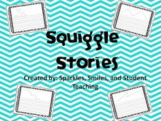 squiggle stories, cute, creative idea for writing Sentence Writing, In Writing, Creative Writing, Writing Prompts, Writing Sentences, Writing Ideas, 4th Grade Writing, Teaching First Grade, Student Teaching