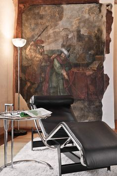 The Widder Hotel Zurich Hotels And Resorts, Best Hotels, Luxury Rooms, Italian Furniture, Zurich, Luxury Travel, Eames, Fresco, Restoration