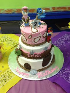 Emma's Sheriff Callie Birthday Party