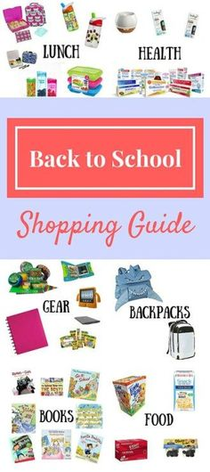 Back to school shopping can be TOUGH! We have some of the best new (non-character) and trendy items on our 'must-have' list this year. Check them out!