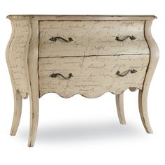 Have to have it. 2-Drawer Le Inspiration Script Chest - $943 @hayneedle   41w x 34h