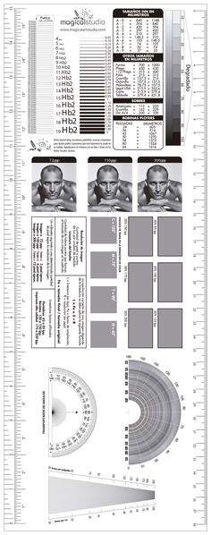 Descargar Plantilla Tipómetro y Lineómetro Gratis Illustrator