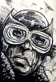 War Comics, Aviation Art