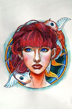 Pisces: the Fish. Zodiac Art, Zodiac Signs, All About Pisces, Astrological Symbols, Sea Fish, Photoshop Cs5, Face Art, Beautiful Creatures, Sketches