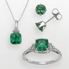 I'm looking for cute but reasonable emerald jewelry